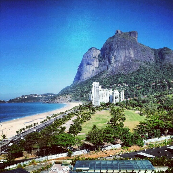 Photo Taken At Piscina Do Hotel Intercontinental Rio De Janeiro By A On 8