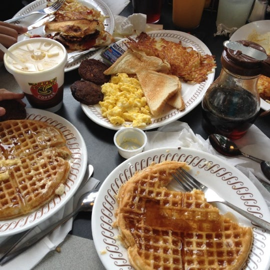 Photo taken at Waffle House by Carmen F. on 5/12/2012