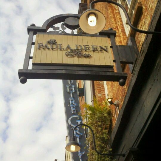 Photo taken at The Paula Deen Store by Madison Tour C. on 2/4/2012