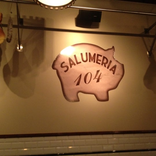 Photo taken at Salumeria 104 by Adrian F. on 8/31/2012