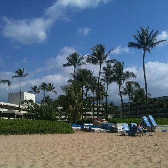Photo taken at Sheraton Maui Resort & Spa by Gary R. on 1/26/2012