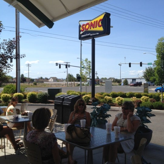 Photo taken at SONIC Drive In by Joanne P. on 7/5/2012