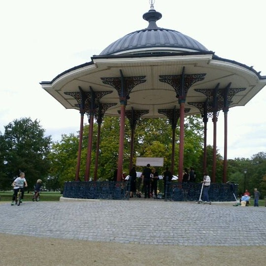 Photo taken at Clapham Common by Paul H. on 9/25/2011