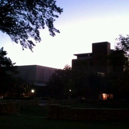 Photo taken at South Oval by Brian P. on 9/30/2011