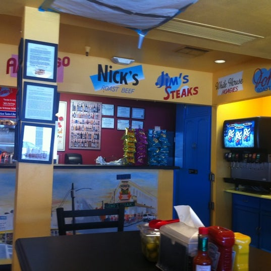 Photo taken at Frankie's South Philly Cheesesteaks and Hoagies by Charlie B. on 7/16/2011