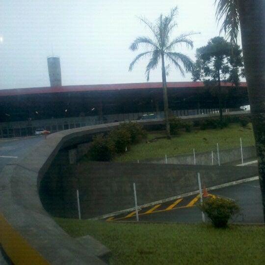 Photo taken at Terminal Rodoviário José Garcia Villar by Karen B. on 10/16/2011