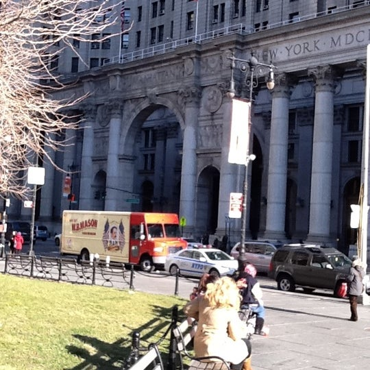 Photo taken at NYC Municipal Building by Kenneth C. on 1/25/2012