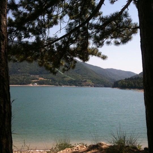 Photo taken at Lago di Suviana by Anna on 7/9/2011