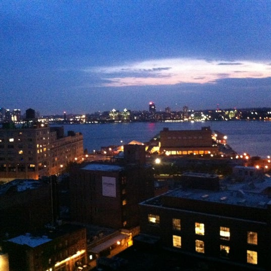 Photo taken at Gansevoort Meatpacking NYC by Nicole F. on 7/4/2012