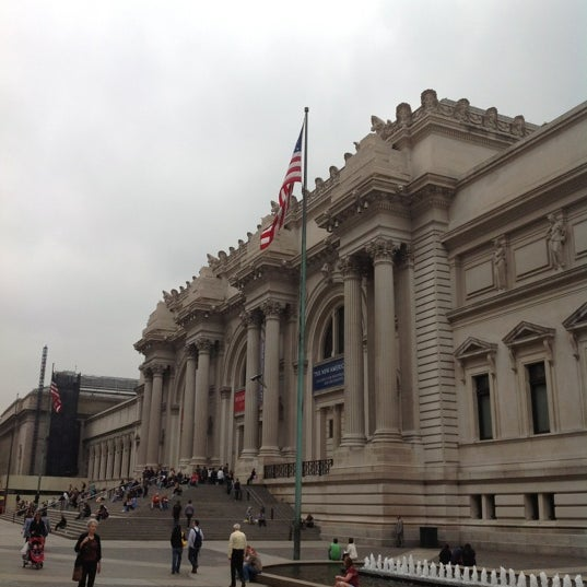 Photo taken at Metropolitan Museum of Art by Richard Y. on 3/21/2012