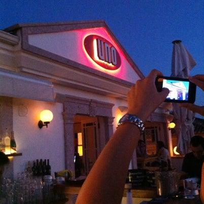 8/22/2012 tarihinde Bulent K.ziyaretçi tarafından Uno Restaurant'de çekilen fotoğraf