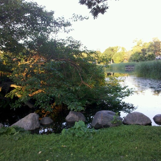 Photo taken at Loring Park by Morgan J. on 6/19/2012