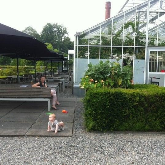 Photo taken at De Kas by Wouter B. on 7/27/2012
