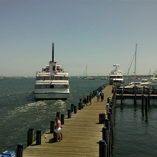 Photo taken at Nantucket Boat Basin by Erich M. on 7/5/2012