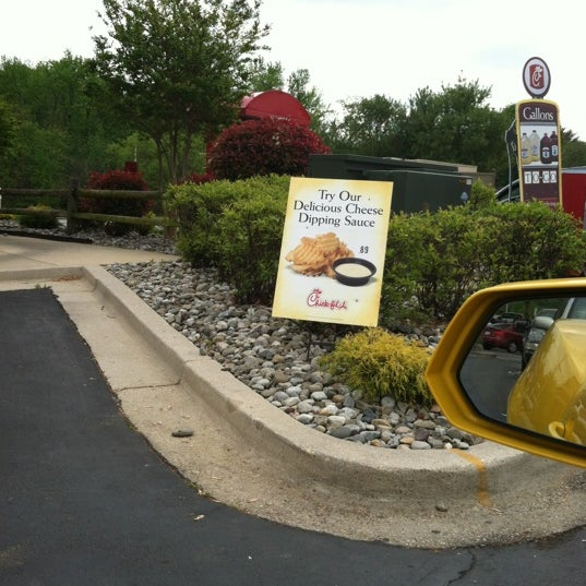Photo taken at Chick-fil-A Bowie by Adam T. on 4/19/2012