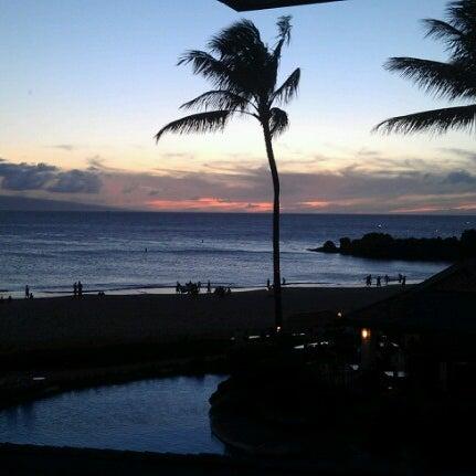 Photo taken at Sheraton Maui Resort & Spa by Kumaran B. on 9/4/2012