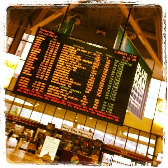 Photo taken at South Station Terminal (MBTA / Amtrak) by Robert F. on 7/14/2012