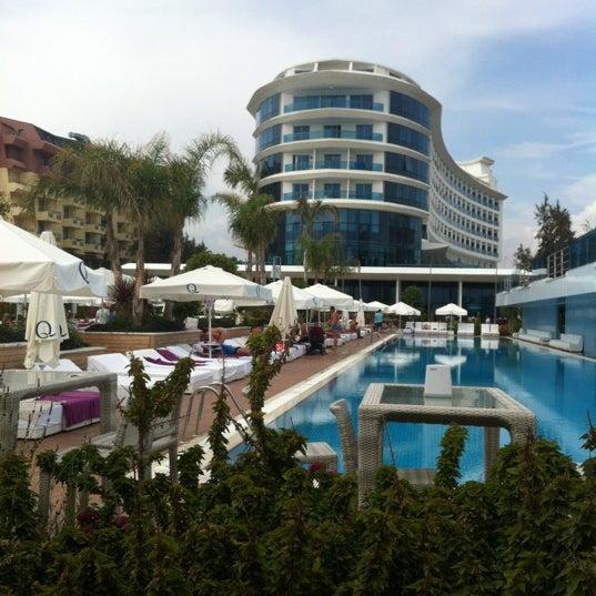 5/12/2012 tarihinde Роман Р.ziyaretçi tarafından Q Premium Resort Hotel Alanya'de çekilen fotoğraf