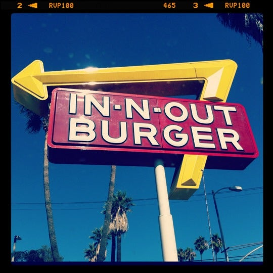Photo taken at In-N-Out Burger by Cynthia G. on 7/24/2012