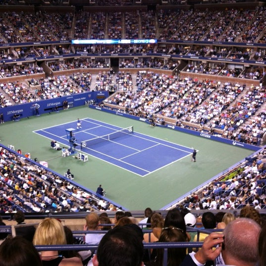 Photo taken at US Open Tennis Championships by Kathryn C. on 8/31/2012