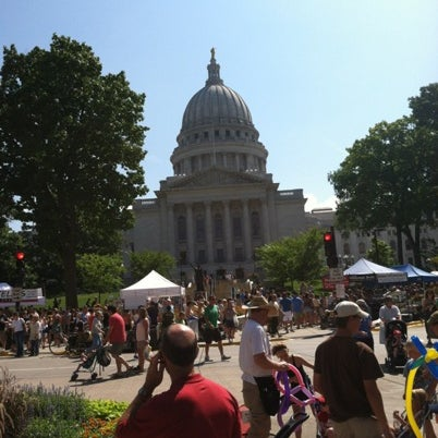 Photo taken at Dane County Farmers' Market by Pat E. on 7/28/2012