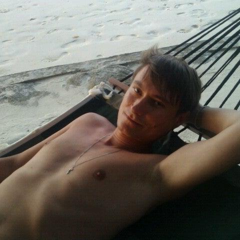 Photo taken at Vilamendhoo Island Resort & Spa by Oleg K. on 7/18/2012
