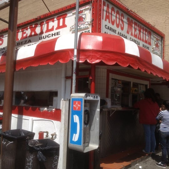 Photo taken at Javier's Tacos Mexico by Terry M. on 3/24/2012