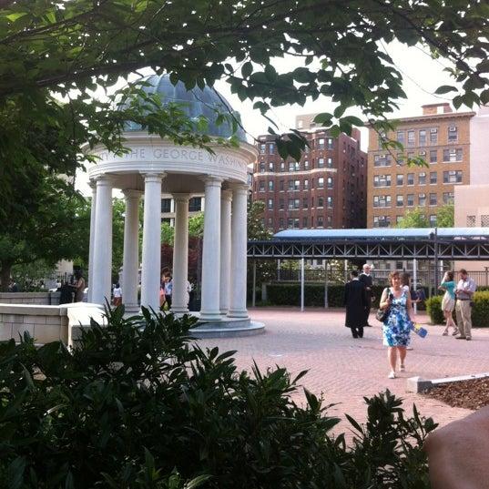 Photo taken at The George Washington University by Jennifer D. on 5/19/2012