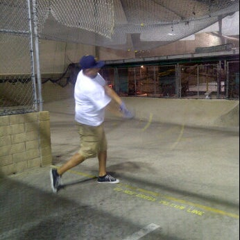 Photo Taken At Home Run Park Batting Cages By Maribel M On 5 29