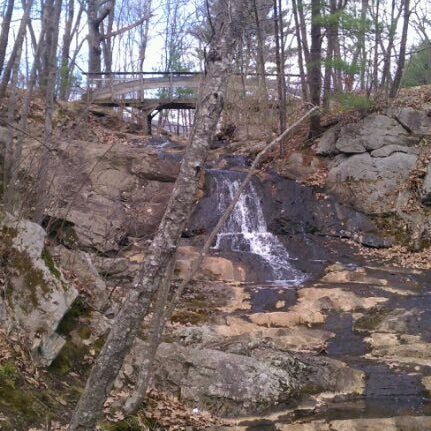 Photo taken at Jewell Falls by Edmund D. on 4/4/2012