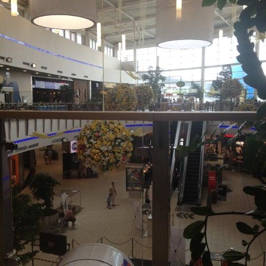 Photo taken at Atrium Optima by Lenka P. on 6/8/2012