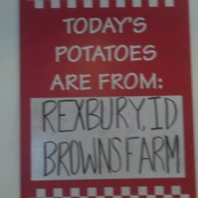 Photo taken at Five Guys by Kim P. on 7/4/2012