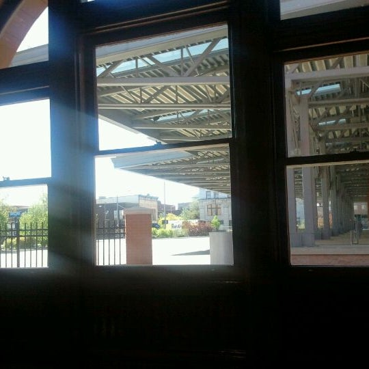Photo taken at Kalamazoo Transportation Center - Amtrak (KAL) by Karyn M. on 4/23/2012