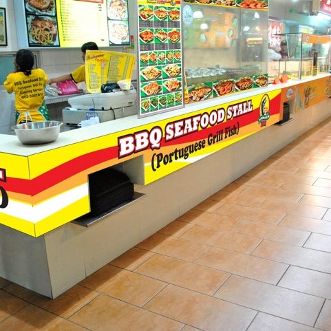Photo taken at Oasis Food Court by Don L. on 7/17/2011
