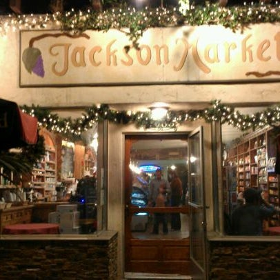 Photo taken at Jackson Market by Michelle on 1/3/2012
