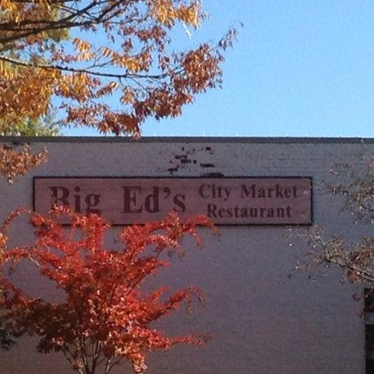 Photo taken at Big Ed's City Market Restaurant by Billy K. on 11/9/2011