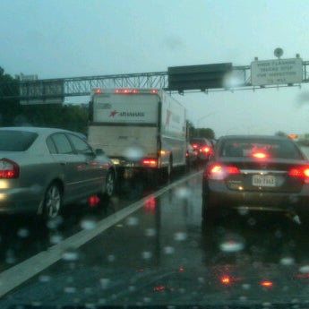 Photo taken at HRBT by Flash W. on 9/23/2011