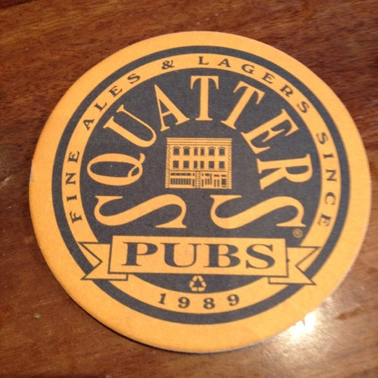 Photo taken at Squatters Pub Brewery by Ashley C. on 4/10/2012