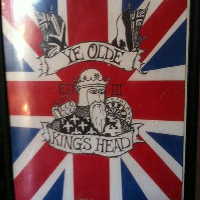 Photo taken at Ye Olde King's Head by Dmitry D. on 8/4/2012