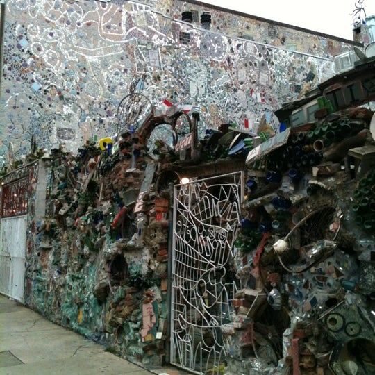 Photo taken at Philadelphia's Magic Gardens by Jess G. on 8/11/2012
