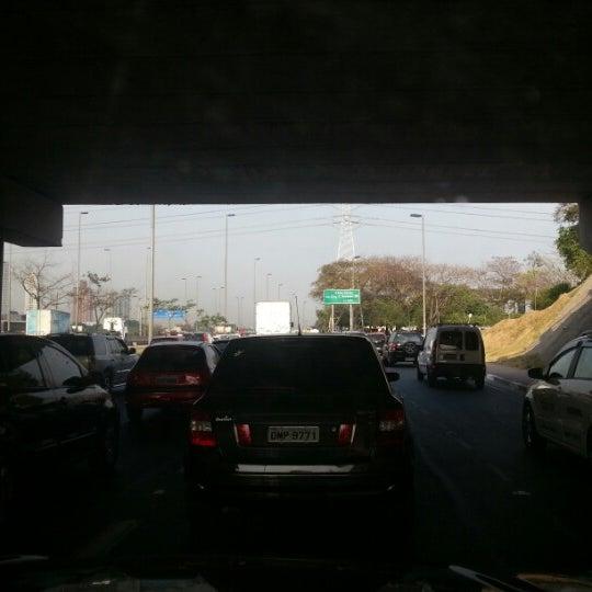 Photo taken at Ponte do Limão by Alê B. on 9/12/2012