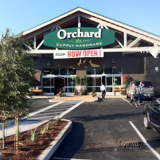 Orchard Supply Hardware Orchard is your neighborhood destination for paint, repair & beautiful backyards. 🌱🌵 Visit us online to find a store near you.