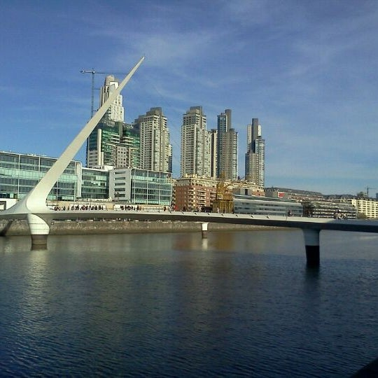 Photo taken at Puerto Madero by Francis S. on 9/24/2011