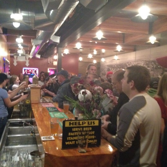 Photo taken at Blackfoot River Brewing Company by Dan L. on 12/31/2011