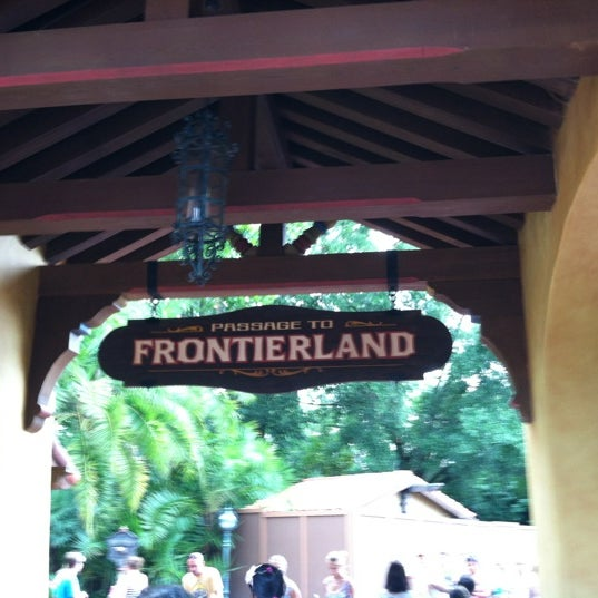 Photo taken at Frontierland by Jason G. on 7/24/2012