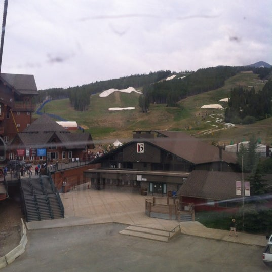 Photo taken at Breck Connect Gondola by Perry B. on 7/4/2012