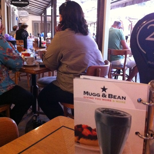 Photo taken at Mugg & Bean by Jeanne V. on 2/7/2011
