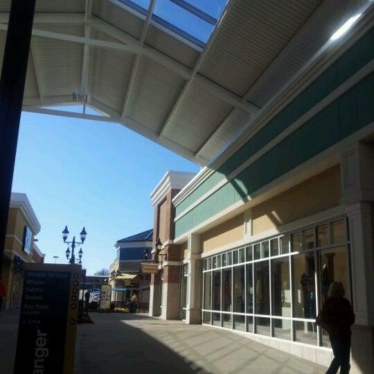 Photo taken at Tanger Outlet Mebane by John R. on 1/29/2012