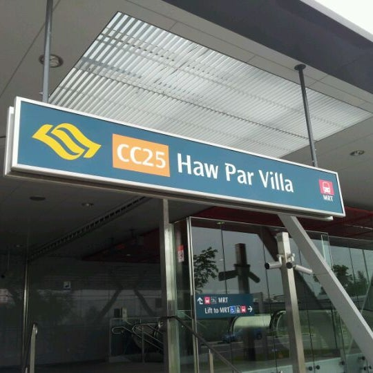 how to get to haw par villa by mrt