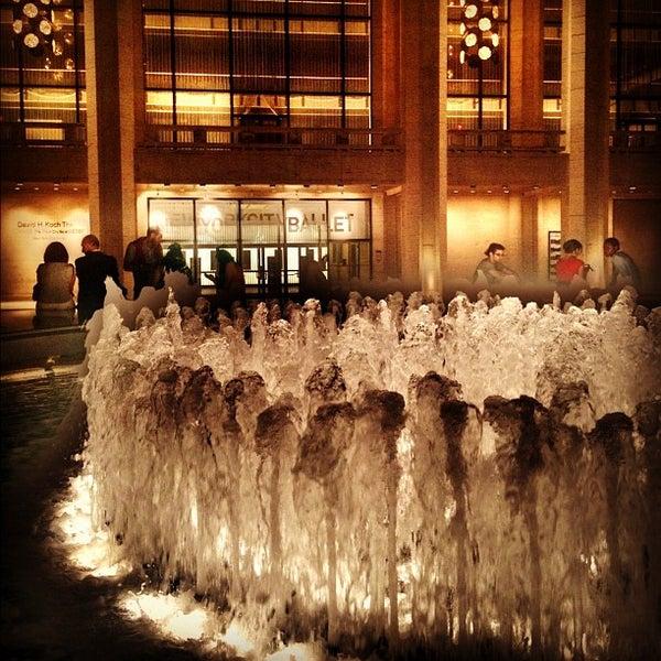 Photo taken at New York City Ballet by Jason P. on 5/29/2012